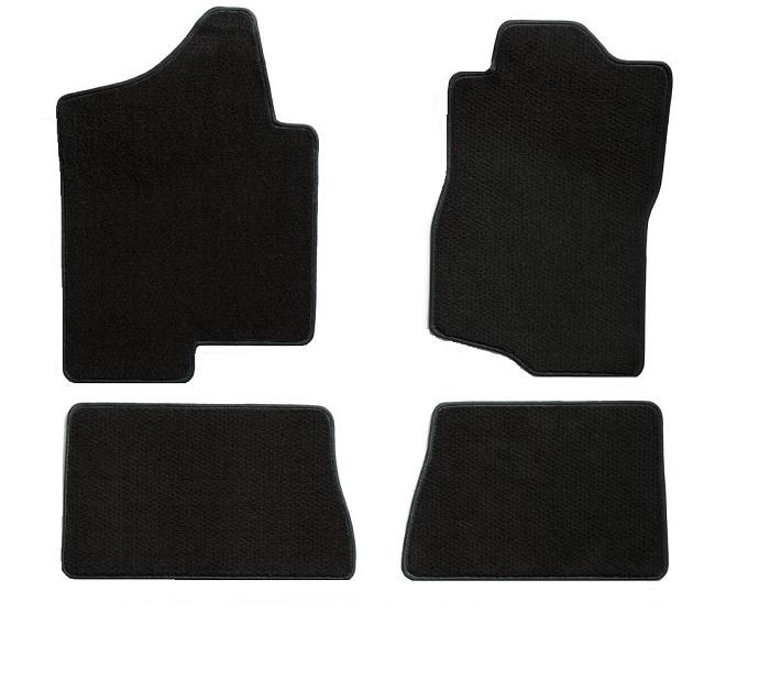 Ford Explorer Utility or Ford Sedan Police Interceptor Black Custom Floor Mats 2013-2019