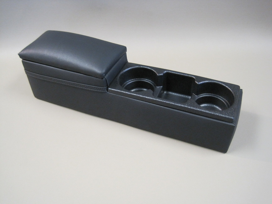2006-2018 Dodge Charger Police Center Mini Console Upholstered Black with Fasteners